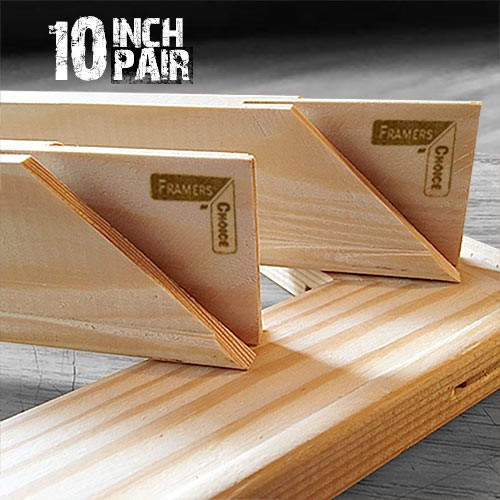 10 inch Canvas Pine Stretcher Bars
