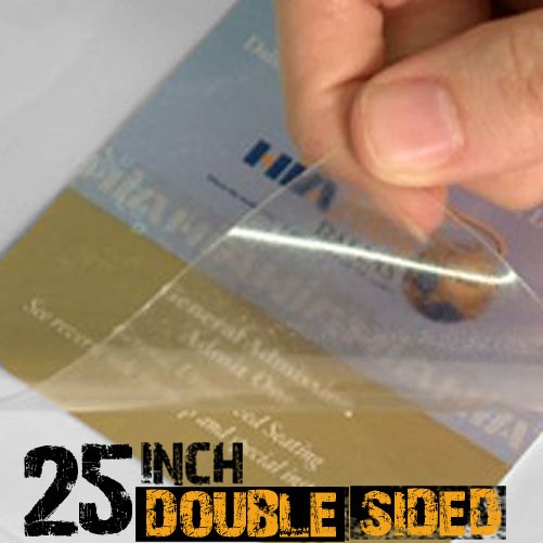 25 inch Double Sided Lamination Film for Acrylic