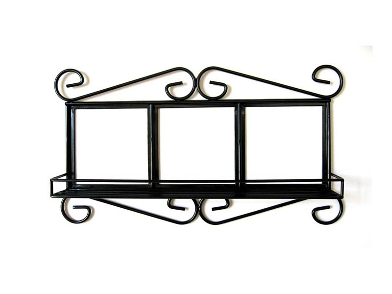 3 Picture Photo Iron Frame with Tiles