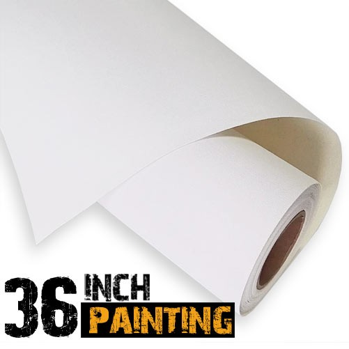 Painting canvas roll for artists
