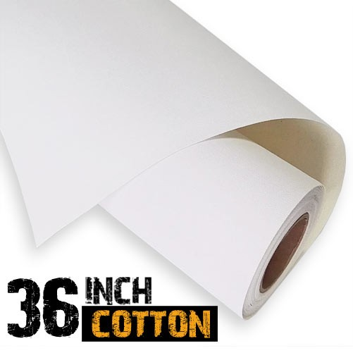 Inkjet Cotton Canvas Roll 36 inches 340gsm