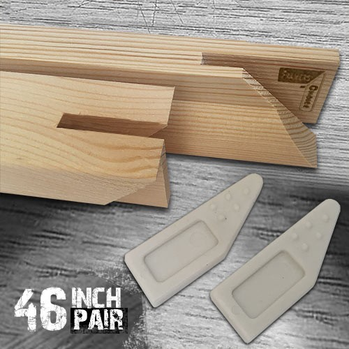 46 inch Gallery Wholesale Stretcher Bars Pair