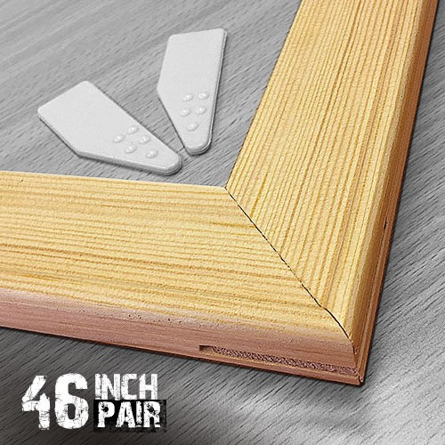 46 inch 18mm Wooden Stretcher Bars Canvas