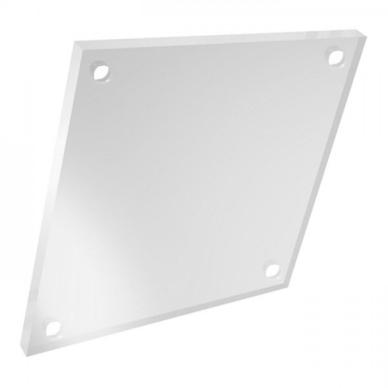 A4 Clear 5mm Acrylic Sheets with 4 Holes