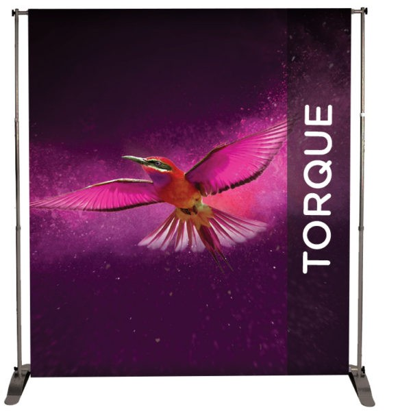 Jumbo Banner Display Frame