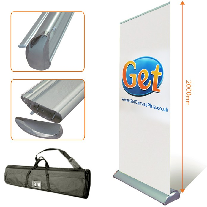 Exhibition Stand Roll Up : Exhibition roll up banner stand mm