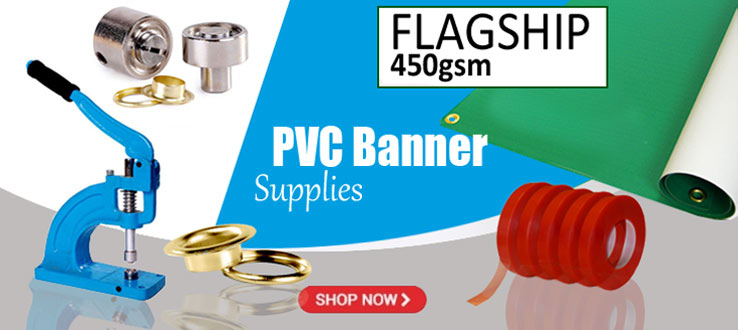 PVC Banner Media and Supplies