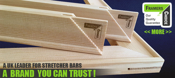 Canvas Stretcher Bars by Framers Choice
