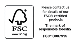 FSC Certified Logo for Stretcher Bars